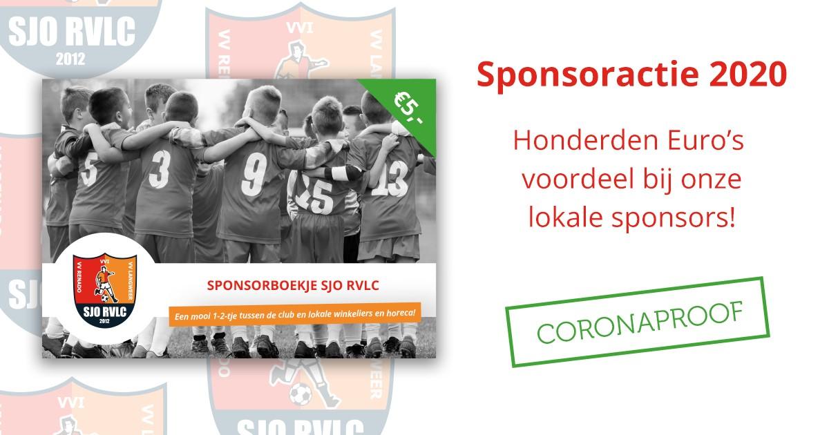 Start sponsorboekjes verkoop RVLC